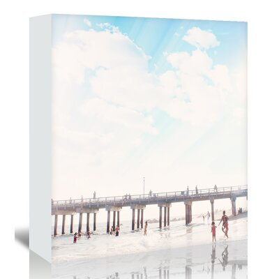 Americanflat 'Island-Dreaming' by Mina Teslaru Photographic Print Wrapped on Canvas