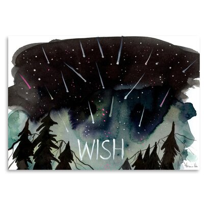 Americanflat 'Wish' by Adrienne Vita Art Print
