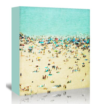 Americanflat 'Coney-Island-Beach 2' by Mina Teslaru Photographic Print Wrapped on Canvas