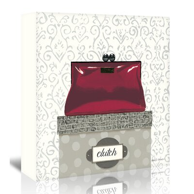 Americanflat 'Clutch' by Marco Fabiano - Wild Apple Graphic Art Wrapped on Canvas