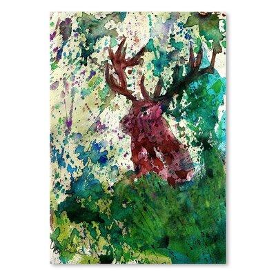 Americanflat Party Deer' by Markus Bleichner Art Print