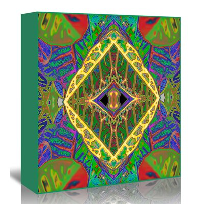 Americanflat 'Croton shield2' by Rose Anne Colavito Graphic Art Wrapped on Canvas