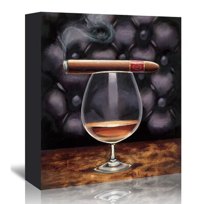 Americanflat 'Gentlemen Prefer I' by Marco Fabiano - Wild Apple Art Print Wrapped on Canvas