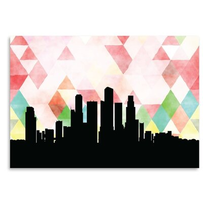 Americanflat 'Singapore_Triangle' by PaperFinch Graphic Art