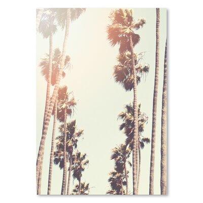 Americanflat 'Palm' by Mina Teslaru Photographic Print