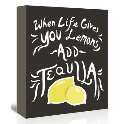 Americanflat 'Lemons' by The Glass Mountain Graphic Art Wrapped on Canvas