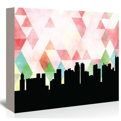 Americanflat Manila Triangle' by Paper Finch Graphic Art on Canvas