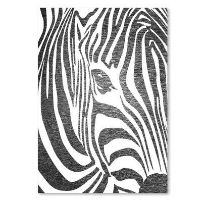 Americanflat 'Zebra3' by Ikonolexi Graphic Art
