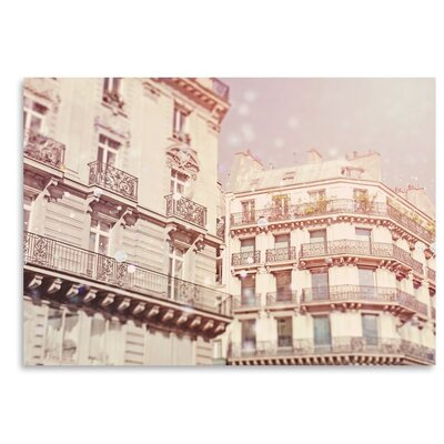 Americanflat 'Paris-Architecture' by Mina Teslaru Photographic Print