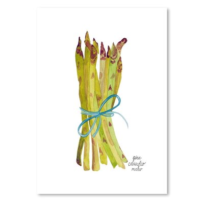 Americanflat 'Asparagus' by Gina Maher Art Print
