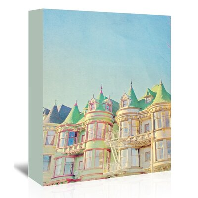 Americanflat 'San-Francisco-Tops2' by Mina Teslaru Graphic Art Wrapped on Canvas
