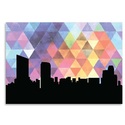 Americanflat 'GrandRapids_Triangle' by PaperFinch Graphic Art