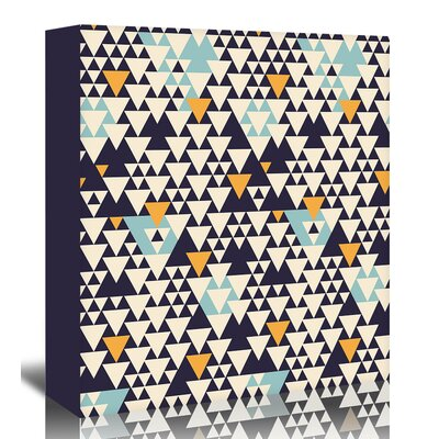 Americanflat 'Pattern2' by Florent Bodart Graphic Art Wrapped on Canvas