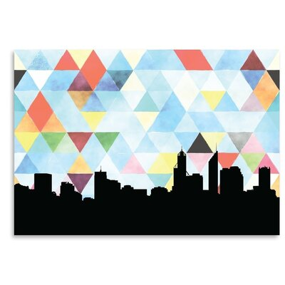 Americanflat 'Perth_Triangle' by PaperFinch Graphic Art