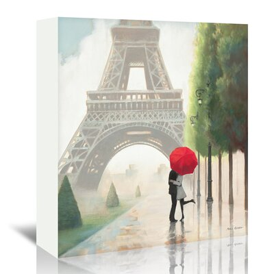 Americanflat 'Paris Romance II' by Marco Fabiano Wild Apple Art Print Wrapped on Canvas