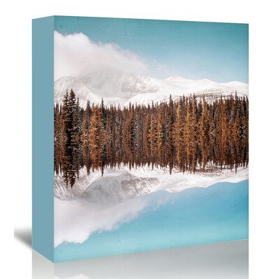 Americanflat 'Richter' by Mina Teslaru Graphic Art Wrapped on Canvas