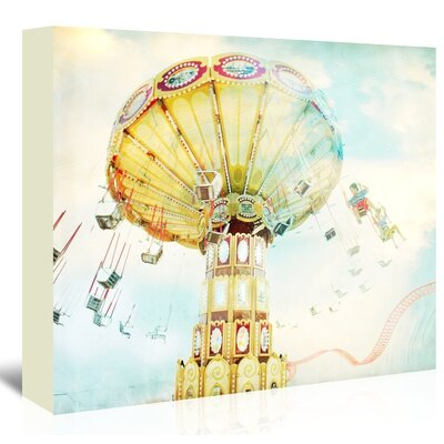 Americanflat 'Ride-The-Sky-2' by Mina Teslaru Photographic Print Wrapped on Canvas