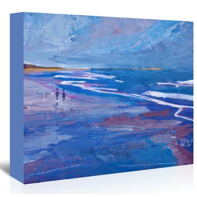 Americanflat Seascape2' by M Bleichner Art Print on Canvas