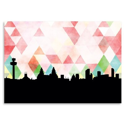 Americanflat 'Liverpool_Triangle' by PaperFinch Graphic Art