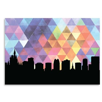 Americanflat 'Orlando_Triangle' by PaperFinch Graphic Art