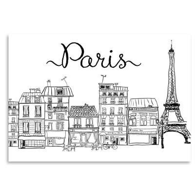 Americanflat 'Paris' Graphic Art