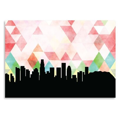 Americanflat 'LosAngeles_Triangle' by PaperFinch Graphic Art
