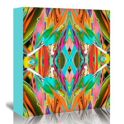 Americanflat 'Ti Plant 2X' by Rose Anne Colavito Graphic Art Wrapped on Canvas
