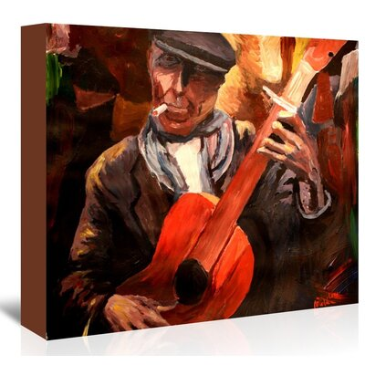 Americanflat The Guitarrero' by M Bleichner Art Print on Canvas