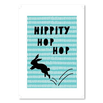 Americanflat 'Hippity Hop Hop' by Ashlee Rae Typography