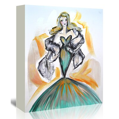 Americanflat 'Glamour in the Tropics' by Cara Francis Art Print Wrapped on Canvas
