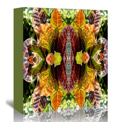 Americanflat 'Buddha in the leaves' by Rose Anne Colavito Graphic Art Wrapped on Canvas