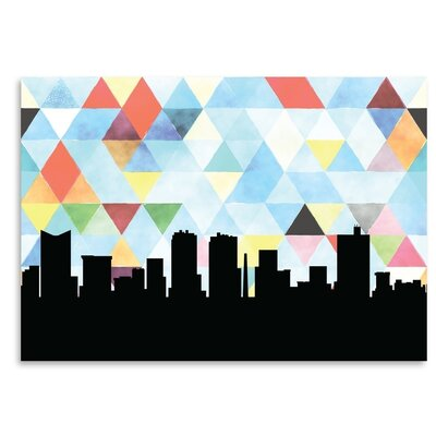 Americanflat 'FortWorth_Triangle' by PaperFinch Graphic Art