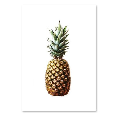 Americanflat 'Pineapple Photo Up To' by Melinda Wood Photographic Print