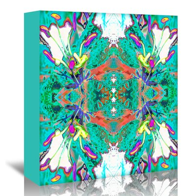 Americanflat 'Lily Butterflies' by Rose Anne Colavito Graphic Art Wrapped on Canvas