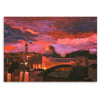 Americanflat 'Jerusalem 2' by M Bleichner Art Print