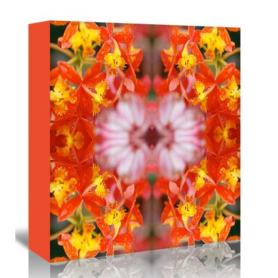 Americanflat 'Yellow Orchids' by Rose Anne Colavito Graphic Art Wrapped on Canvas