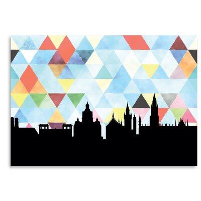 Americanflat 'Munich_Triangle' by PaperFinch Graphic Art