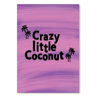 Americanflat 'Little Coconut' by Ashlee Rae Typography