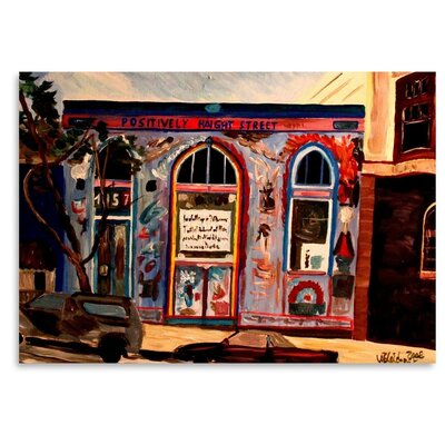 Americanflat 'Positively Haight' by M Bleichner Art Print