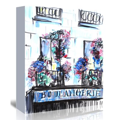 Americanflat 'Boulangerie Palais-Royal' by Cara Francis Art Print Wrapped on Canvas