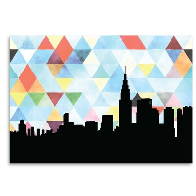 Americanflat 'Tokyo Triangle' by PaperFinch Graphic Art