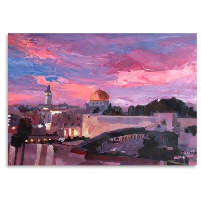 Americanflat 'Jerusalem' by M Bleichner Art Print
