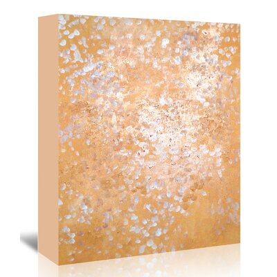 Americanflat 'AcrylicSeries' by Cara Francis Graphic Art Wrapped on Canvas in Gold