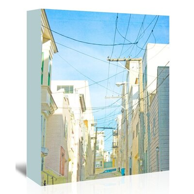 Americanflat 'San-Francisco-Tops4' by Mina Teslaru Photographic Print Wrapped on Canvas