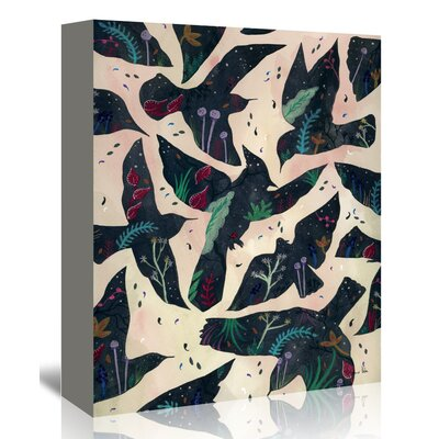 Americanflat 'Freedom' by Adrienne Vita Graphic Art Wrapped on Canvas