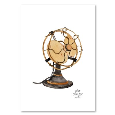 Americanflat 'Fan' by Gina Maher Art Print
