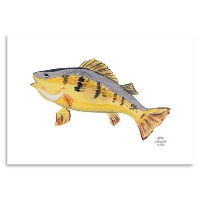 Americanflat 'Fish' by Gina Maher Art Print