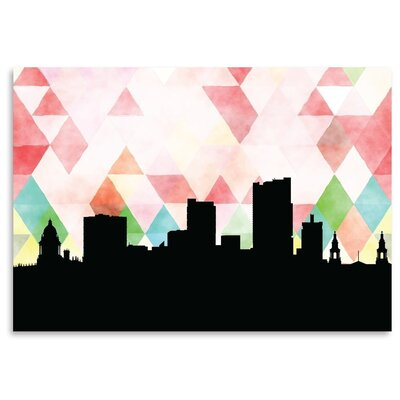Americanflat 'Leeds Triangle' by PaperFinch Graphic Art