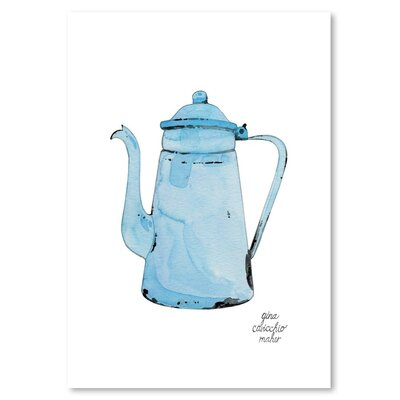Americanflat 'Teakettle' by Gina Maher Art Print
