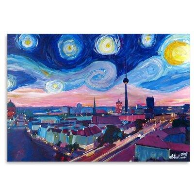 Americanflat Starry Night In Berlin' by Markus Bleichner Art Print
